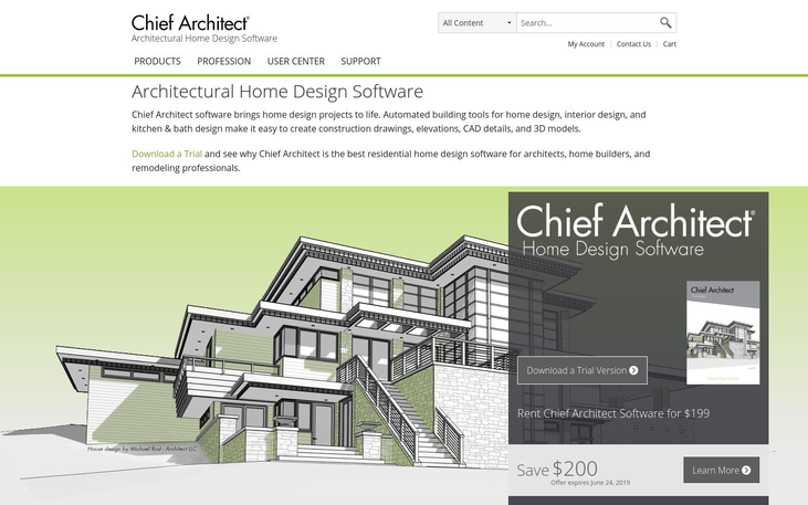 Chief Architect - Architecture Software