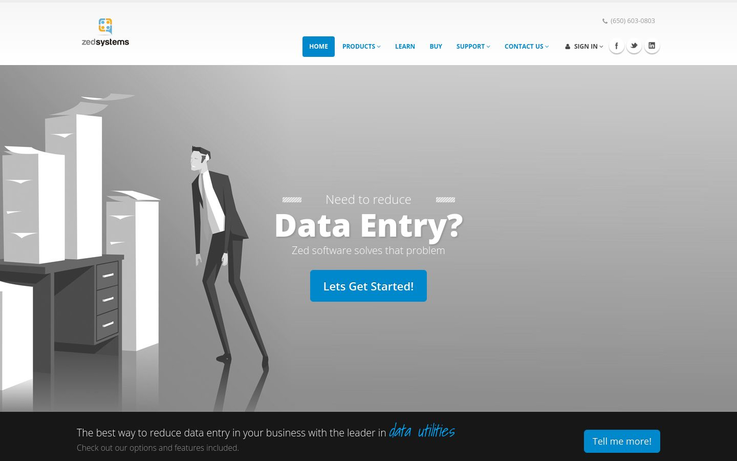 Zed - Data Entry Software