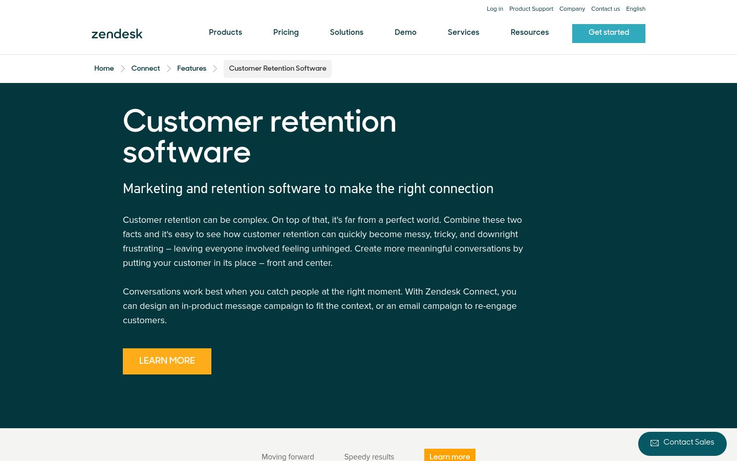 Zendesk - Customer Retention Software