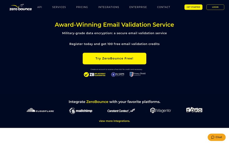ZeroBounce - Email Verification Services