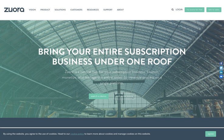 Zuora - Subscription Management Software