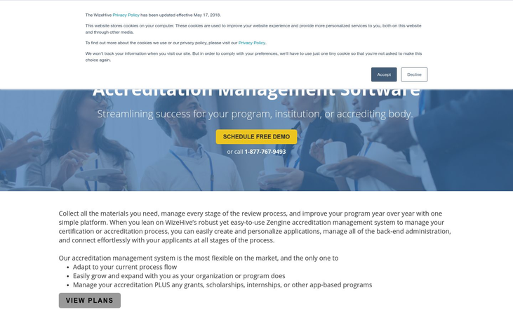 WizeHive - Accreditation Management Software