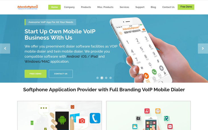 Adore Softphone - VoIP Software
