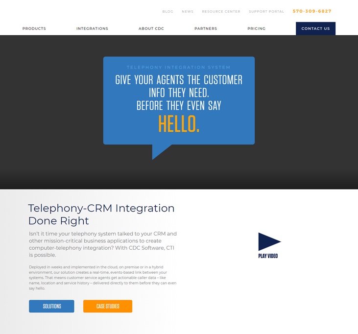 CDC Software - Telephony Software