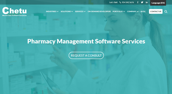 Chetu - Pharmacy Software