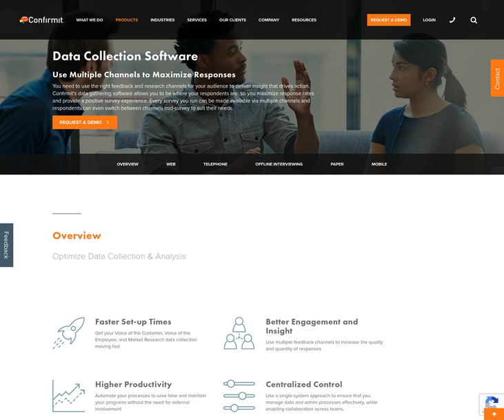 Confirmit - Data Collection Software