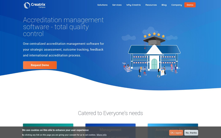 Creatrix Campus - Accreditation Management Software