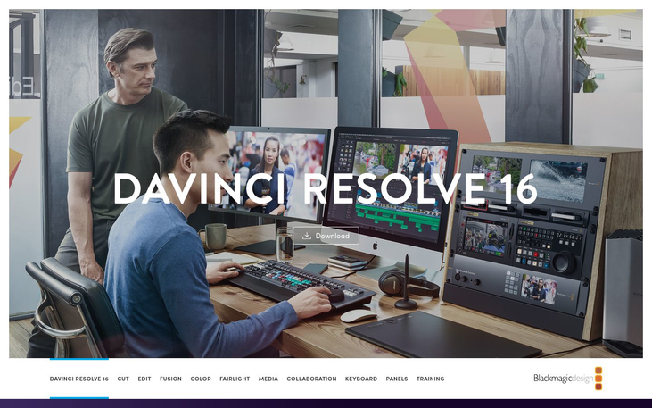 DaVinci Resolve - Color Grading Software