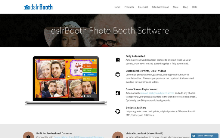 dslrBooth - Photo Booth Software