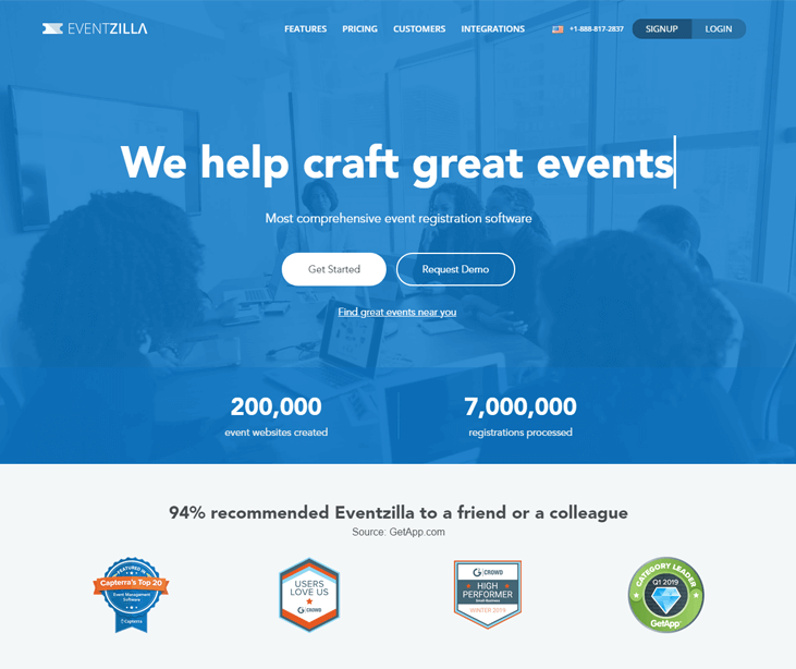 Eventzilla - Event Management Software