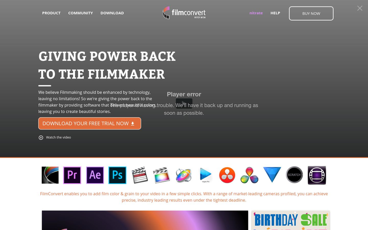 FilmConvert - Color Grading Software
