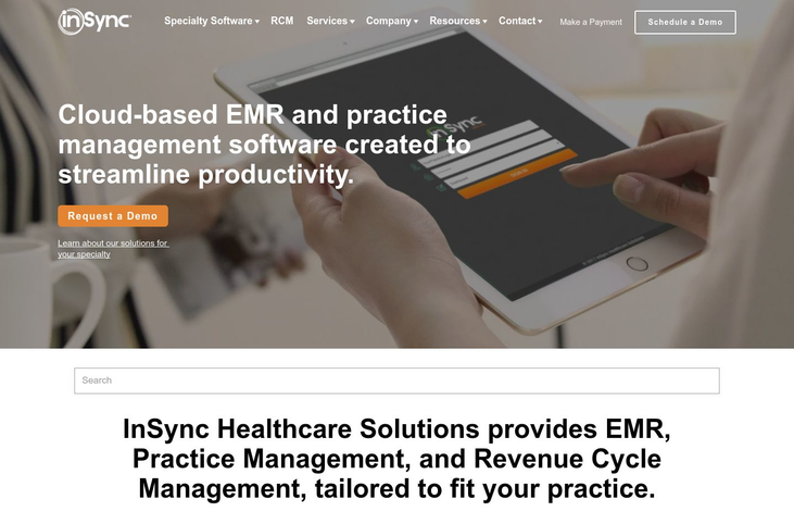 InSynchc - Electronic Medical Records Software