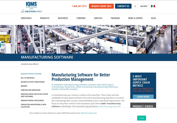IQMS - Manufacturing Software