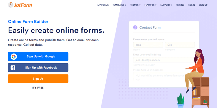 Jotform - Form Builder Software
