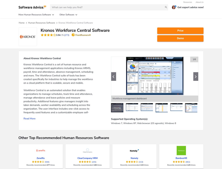 Kronos - Recruiting Software