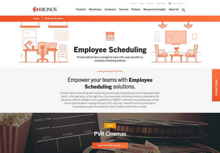 Kronos - Employee Scheduling Software