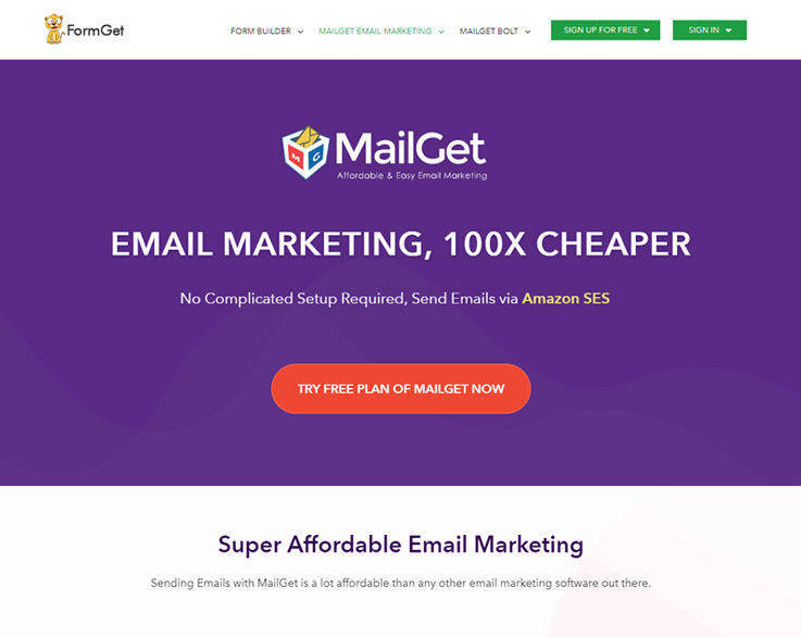 MailGet - Email Marketing Services