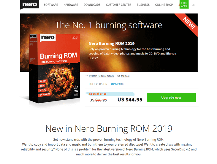 Nero Burning ROM - DVD Burning Software