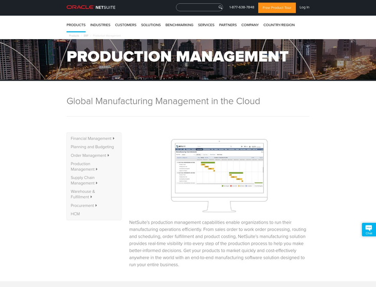 NetSuite - Production Management Software
