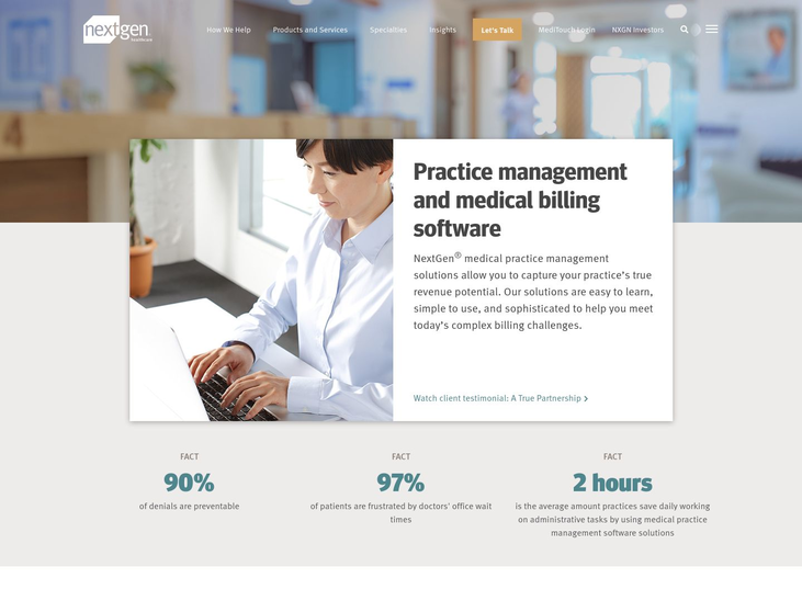 NextGen: - Medical Practice Management Software