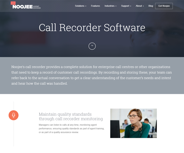Noojee - Call Recording Software