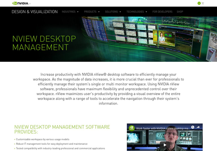 nview - Desktop Management Software