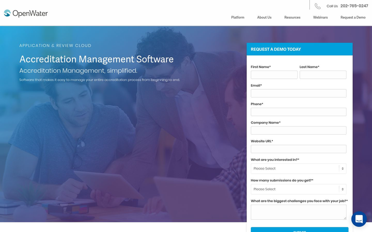 OpenWater - Accreditation Management Software