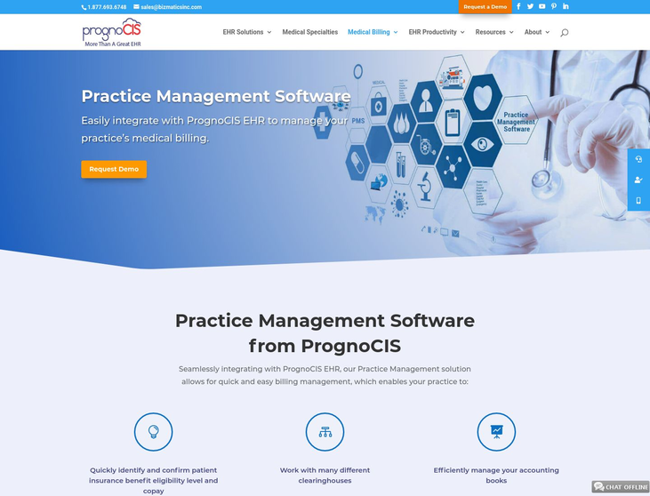 PrognoCIS - Medical Practice Management Software