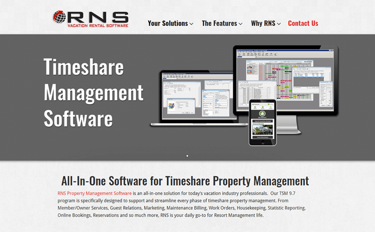 RNS - Timeshare Software