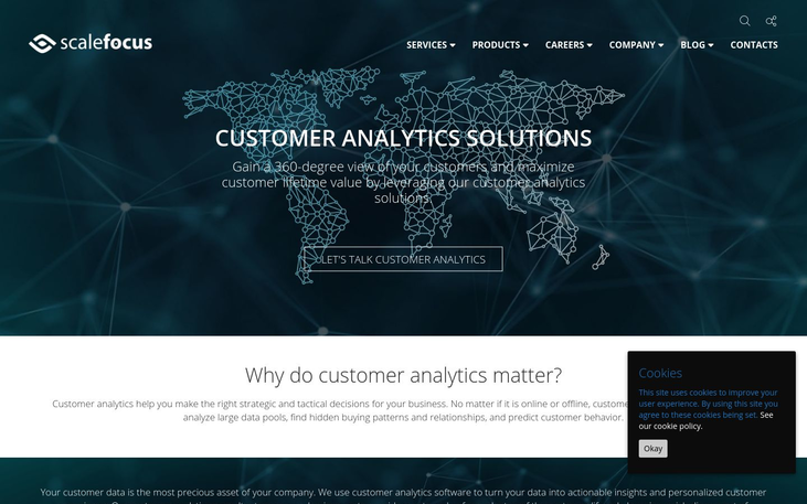 ScaleFocus - Customer Analytics Software