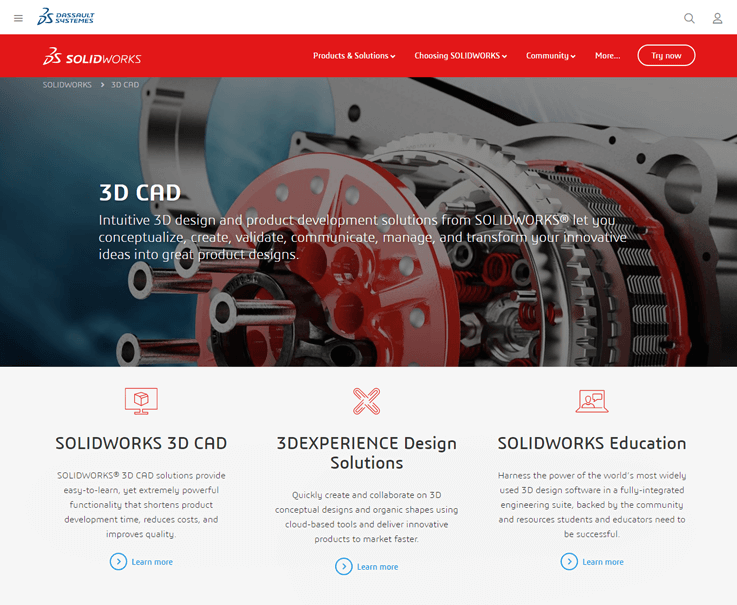 SOLIDWORKS - CAD Software