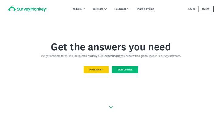 SurveyMonkey -Survey Software