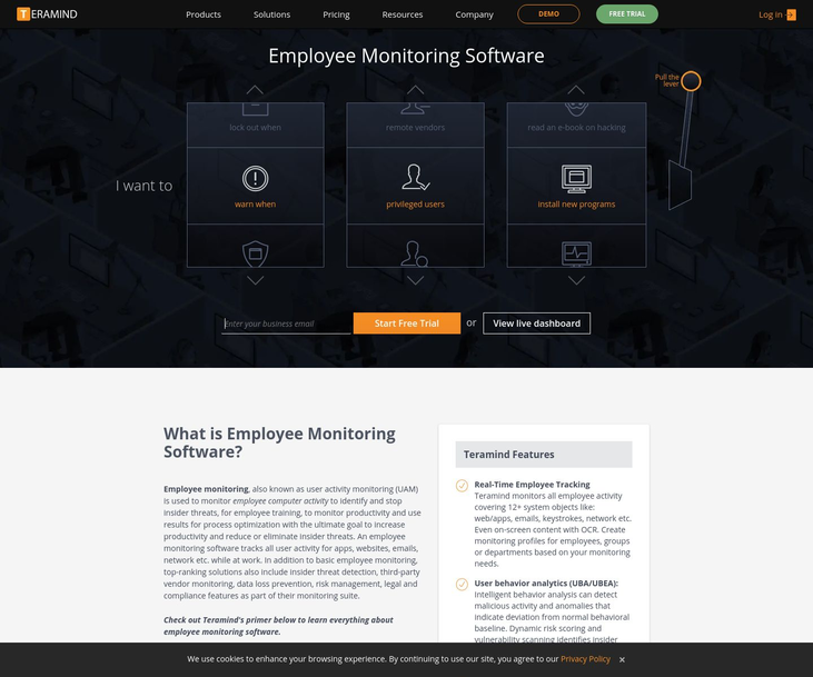 Teramind - Employee Monitoring Software