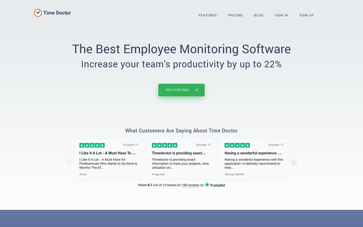 Time Doctor - Employee Monitoring Software