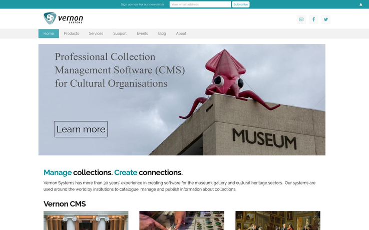 Vernon - Collection Management Software