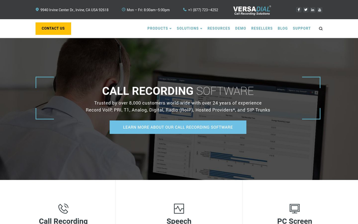 Versadial - Call Recording Software