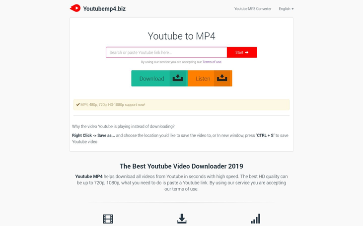 YouTube MP4 – Video Converter