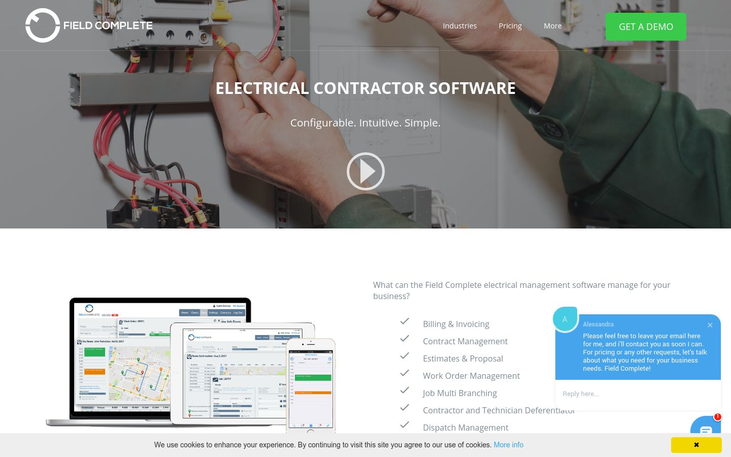 Field Complete – Electrical Contractor Software