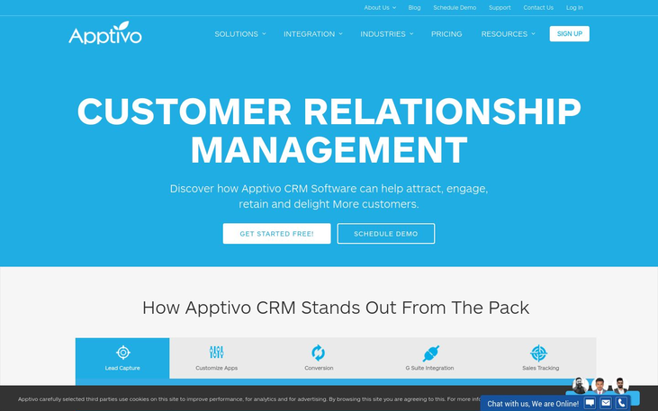 Apptivo - Online CRM Software