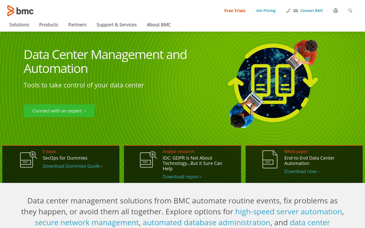 Data Center Management Software by BMC