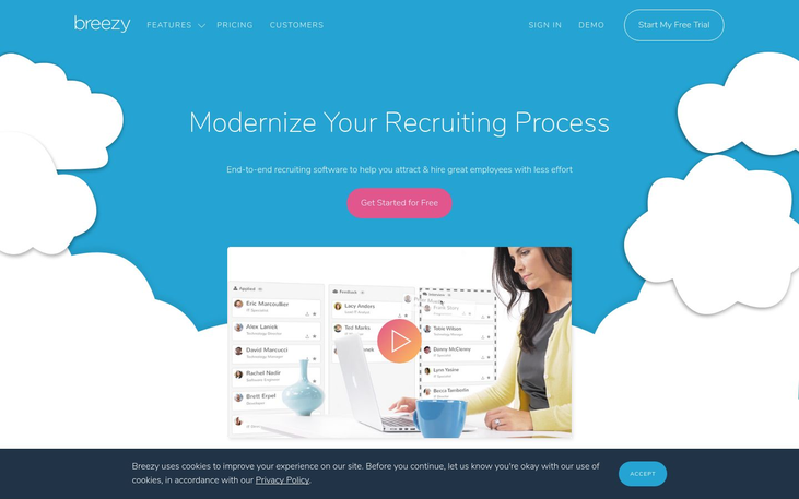 Breezy - Human Resource Software