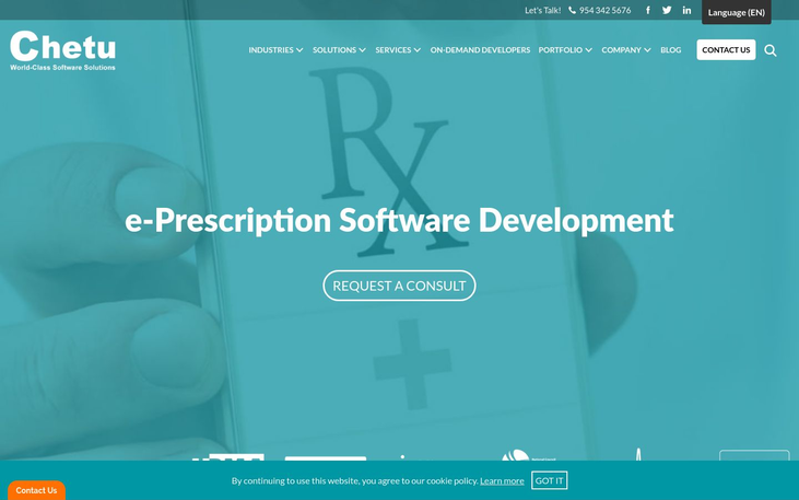 ePrescribing Software By Chetu - E Prescribing Software