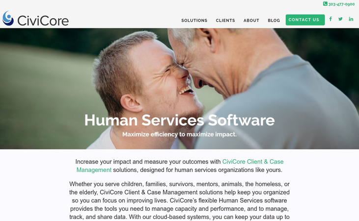CiviCore - Human Services Software