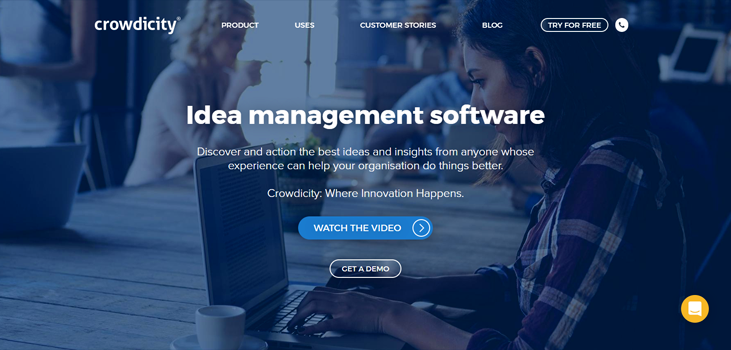 Crowdicity - Idea Management Software