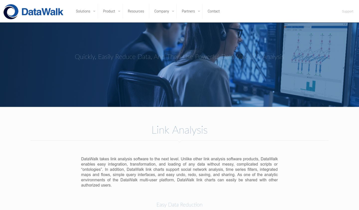 DataWalk - Link Analysis Software