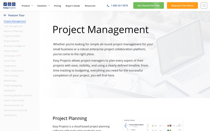 Easy Projects - Project Management Software