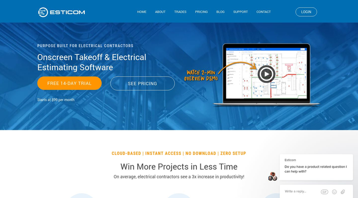 Esticom Software - Electrical Estimating Software