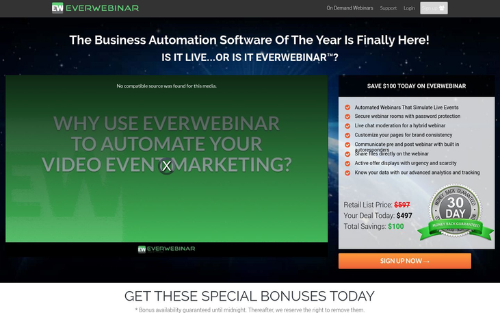 EverWebinar - Webinar Software