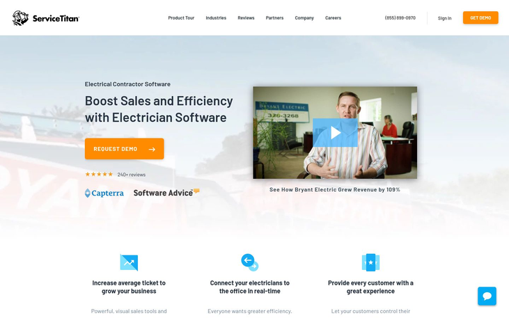 ServiceTitan – Electrical Contractor Software