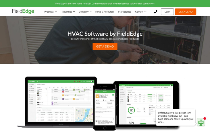 FieldEdge - HVAC Software